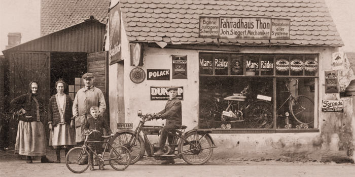 Back to the Roots_Fahrradladen 1909